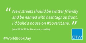 New streets should be Twitter friendly and be named with hashtags up front. I'd build a house on #LoversLane