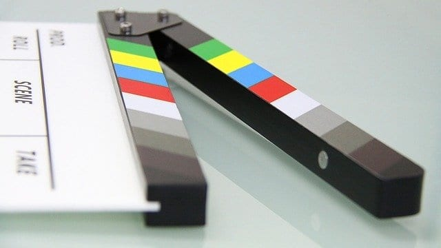 Image of clapper board